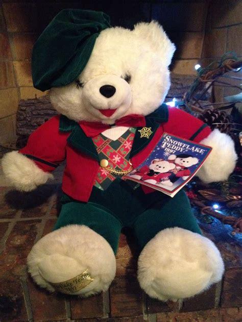 walmart big bears 1997 dandee walmart snowflake teddy replacement loveys