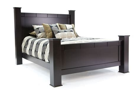 bed queen size sandberg elena 33412f 33412h 33462r black queen size wood