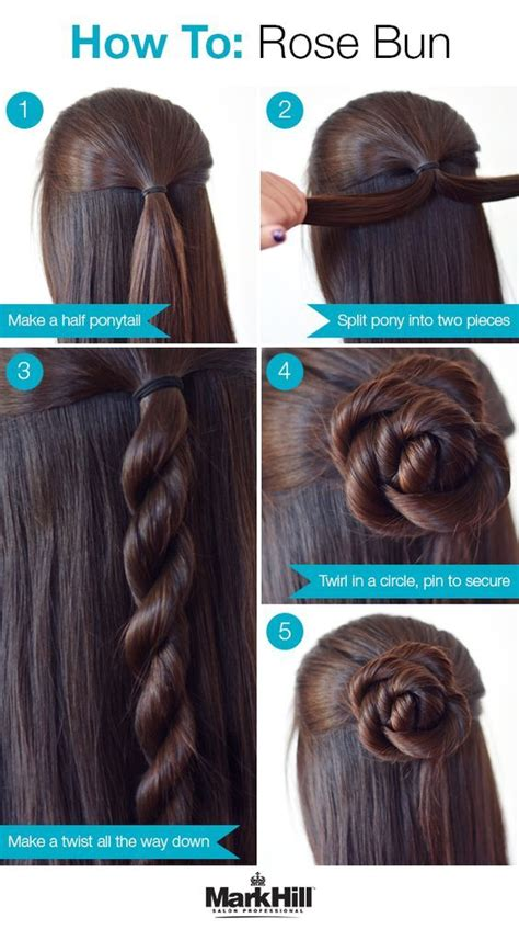 how to do easy hairstyles for kids step by step 26 amazing bun updo ideas for long medium length hair
