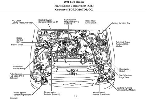 motor repair manual 2003 ford ranger electronic valve timing where is my egr valve located on my 2001 ford ranger 3