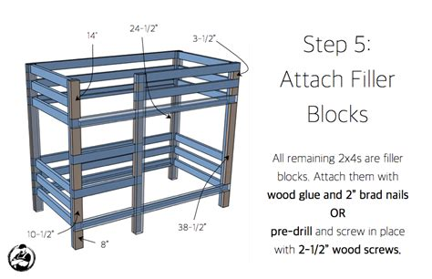 2x4 Bunk Bed Plans 2x4 Bunk Bed 187 Rogue Engineer