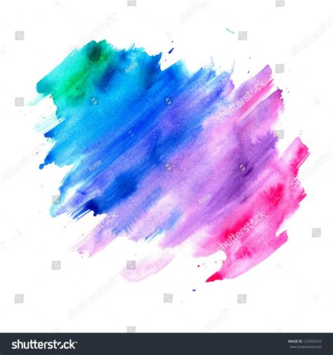 abstract watercolor background blue purple pink stock illustration 125555633