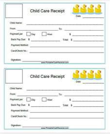 daycare invoice template 5 daycare invoice templates exles in word pdf