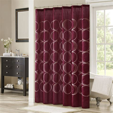 burgundy curtains bedroom image of ideas burgundy curtains burgundy shower curtain