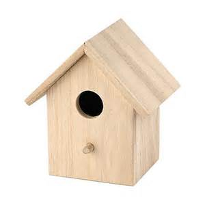wooden bird houses bare wood bird house basic 8138 shops products and