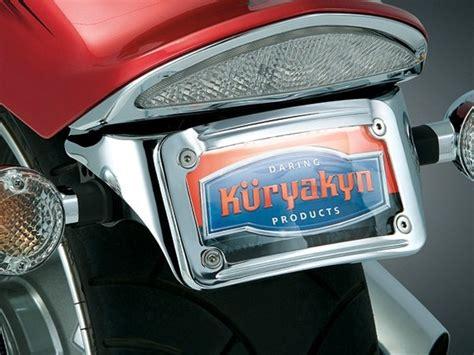 yamaha raider chrome sub fender license plate bracket w