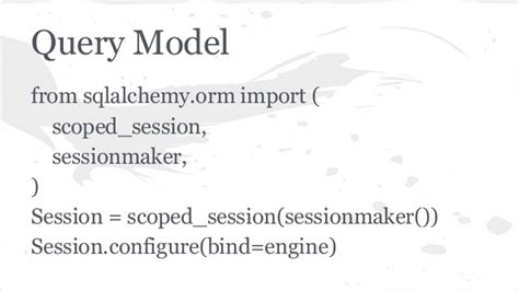 sqlalchemy tutorial query sqlalchemy sqlの錬金術