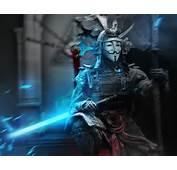 Guy Fawkes Mask Samurai