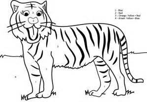 72 Dessins De Coloriage Tigre 224 Imprimer Sur Laguerche Com