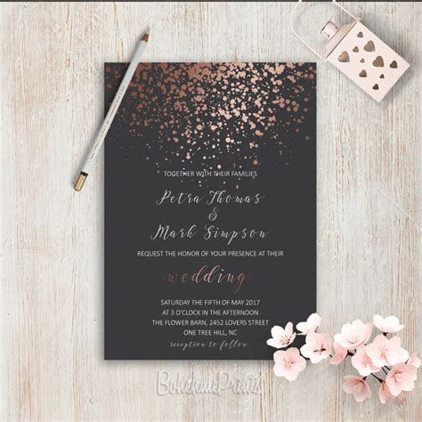 Einfache Hochzeitseinladungen by Wedding Invitations Simple Wedding Invitation