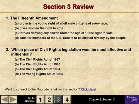 american government chapter 6 section 3 ppt magruder s american government powerpoint