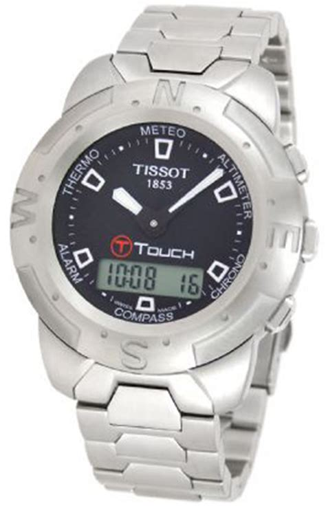 tissot t33 1 588 51 t touch mens reviews productreview