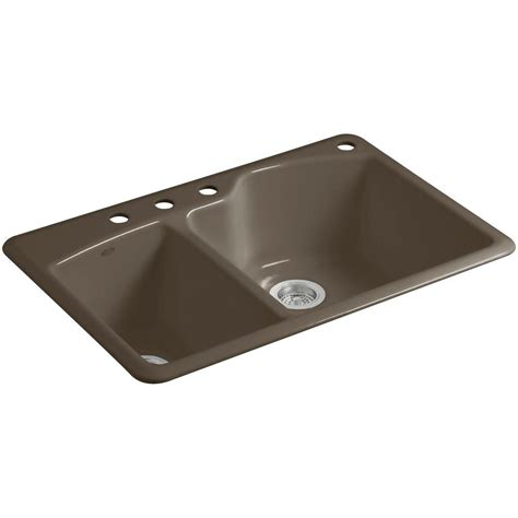 Kohler Wheatland Sink by Kohler Wheatland Drop In Cast Iron 33 In 4