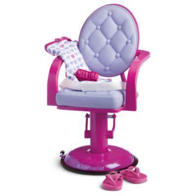 Doll Hair Salon Chair by Doll Salon Chair Wrap Set Truly Me American