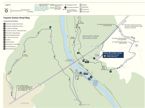 river gorge map new river gorge maps npmaps just free maps period