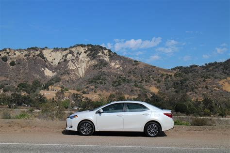 toyota california 2017 toyota corolla first drive of updated compact sedan