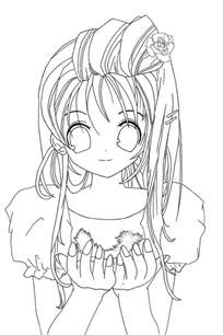 anime coloring sheets coloring pages of anime az coloring pages