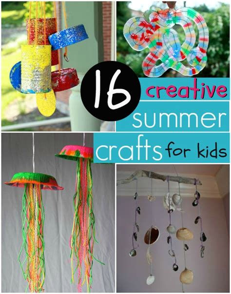kid craft ideas for summer creative easy summer crafts for