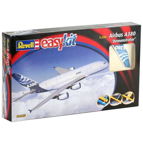 Hair Style Kit Toys Mall by Revell Airbus A380 Quot Demonstrator Quot Easykit Scale 1 288