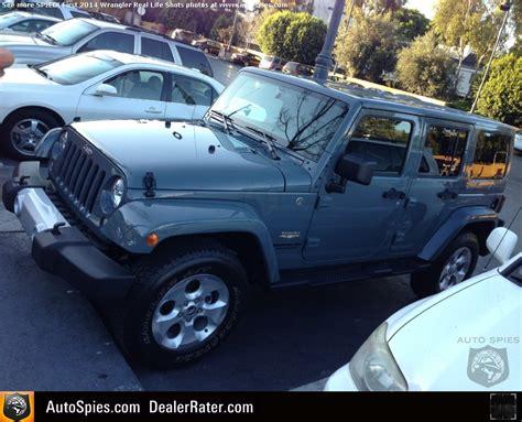 2014 wrangler jeep anvil color autos post