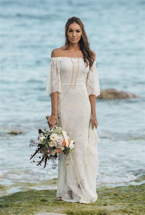 Brautkleider In Farbe by 14 Strand Brautkleider F 252 R Eine Romantische Strandhochzeit