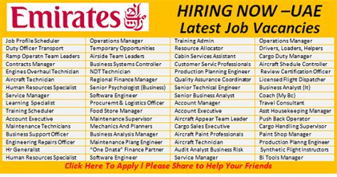 emirates airlines career latest jobs opportunities in emirates group