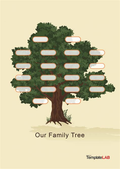 family tree pics template 50 free family tree templates word excel pdf ᐅ