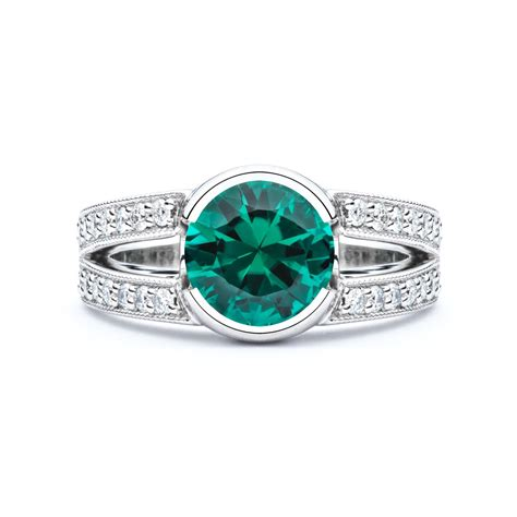Green Tourmaline Diamond Ring   JM Edwards Jewelry