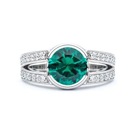Green Tourmaline Diamond Ring   JM Edwards Jewelry