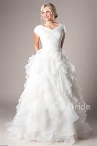 Modest wedding dresses mormon lds temple marriage casanova