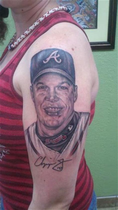 atlanta braves tattoos why chipper jones doesn t get the jeff bagwell treatment