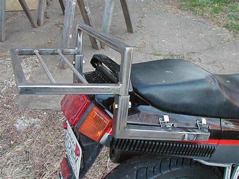 Diy Luggage Rack Motorcycle by Diy Luggage Rack Or Trunk Gz 250 Forums