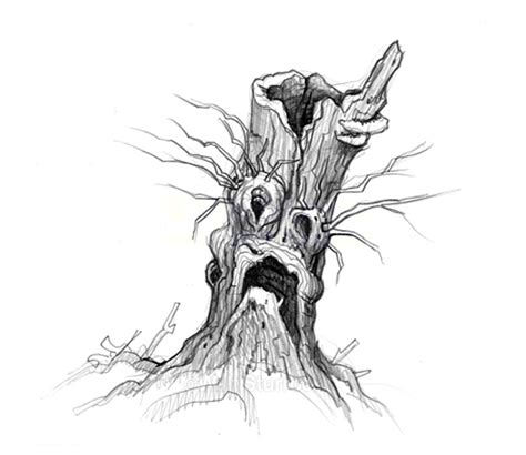 Spooky Search Spooky Tree Faces Search