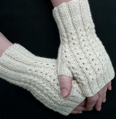 free pattern gloves knitting bonbons fingerless mitts knitting patterns and crochet