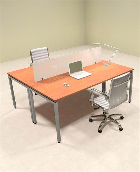 2 person workstation desk two person modern divider office workstation desk set of