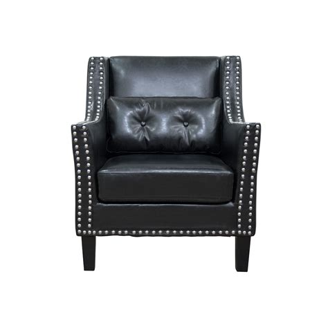 Faux Leather Accent Chair Bestmasterfurniture Faux Leather Arm Chair Reviews Wayfair