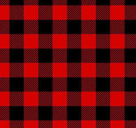 lumberjack plaid red black flannel
