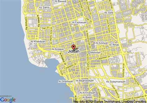 printable jeddah road map map of radisson sas hotel jeddah jeddah