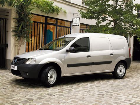 renault logan van dacia logan van pictures and wallpapers