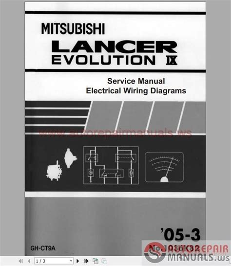 2005 lancer evo wiring diagrams wiring diagram