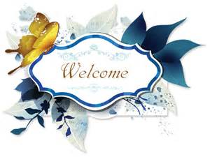 welcome template free pretty yellow butterfly banner scrapbook ebay