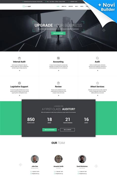 90 Best Business Consulting Website Templates Free Premium Freshdesignweb Accounting Firm Website Template
