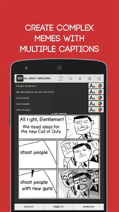 Meme Maker Android App - meme generator free screenshot