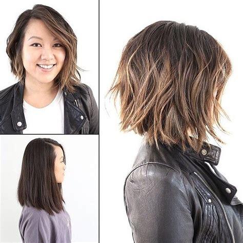 long asymmetrical lob 50 best i need a haircut images on pinterest short hair