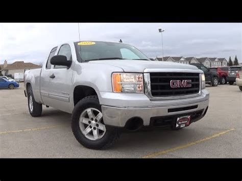 2010 Gmc Reviews by 2010 Gmc 1500 Sle Review