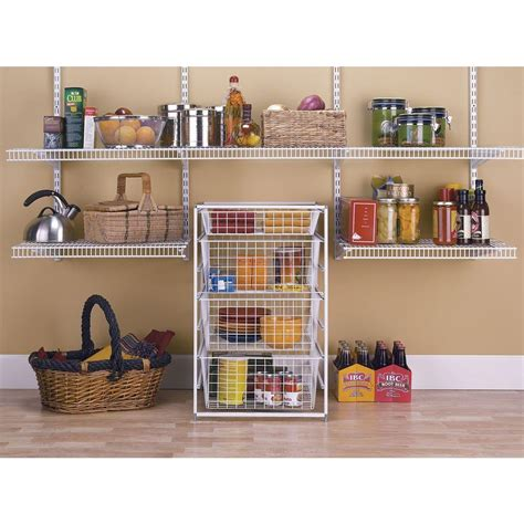 closetmaid 4 drawer kit closetmaid 29 in h drawer kit with 4 wire baskets 6201