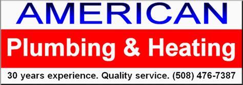 American Plumbing by Massachusetts Plumber Sutton Manchaug Auburn American
