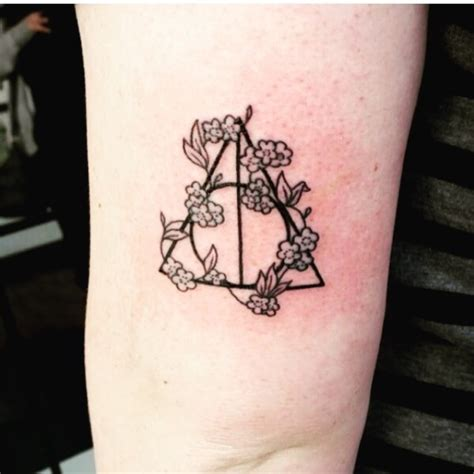 harry potter tattoo on