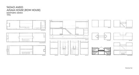 azuma house plan precedent study azuma house on behance