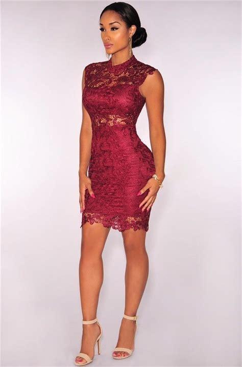 vestidos rojos de encaje cortos m 225 s de 25 ideas incre 237 bles sobre vestidos de encaje rojos